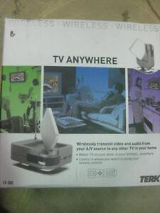 Terk Leapfrog LF-30S Wireless Receiver / Transmitter. Watch TV every Room with One Android Box / DVD Player / Receiver