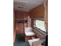 6 berth caravan with motor mover