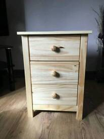 Brand new solid pine drawers