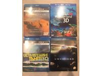 3D Bluerays Documentaries