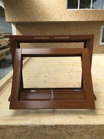 Solid Hardwood Bi-Fold Door and Windows