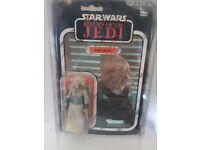 Star Wars Action figure Memorabilia: Squid Head.