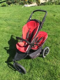 Phil and Teds Double buggy - Pretty good condition