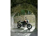 KTM Duke 125, ABS, low miles