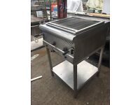 Parry Natural Gas Charcoal Grill complete with stand, Full working order