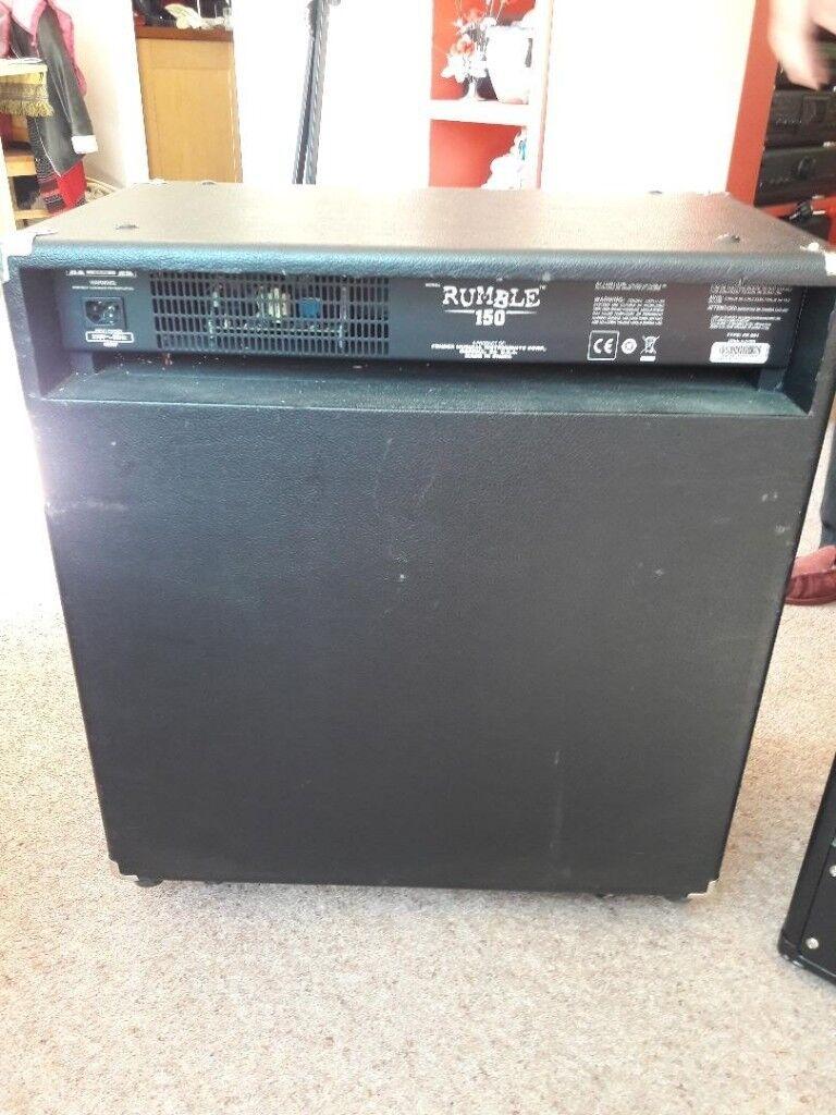 Lificador Fender Rumble 150 Cargando Zoom