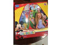 Mickey Mouse Pop Up Tent - New