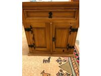 Mexican pine cabinet really good used condition