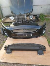Jaguar XK Front bumper wing bonnet headlight