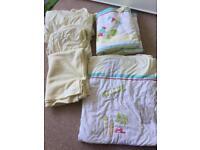 Babies r us Nursery bedding bundle