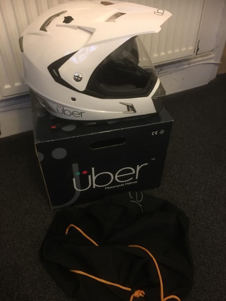 Motorbike Helmet. Unused
