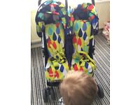 To and fro double buggy