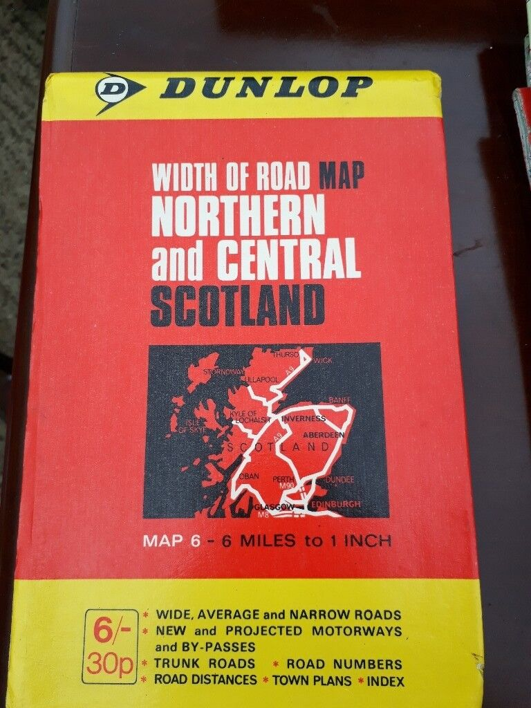North and Central Scotland Map