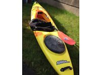 Pyranha Fusion Crossover Kayak - Medium
