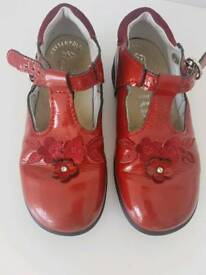 Red patent UK 10 shoes