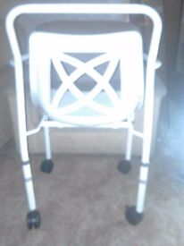 Shower chair - like new, reinforced brakes, RRP £128 NRS Medical