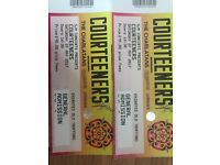2 x Courteeners Tickets for Old Trafford Cricket Ground Tonight 27/05/17