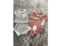 Spanish boutique baby outfits for 0-6 months