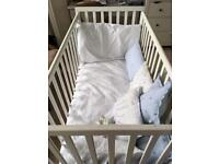 Free cot and cot top changer
