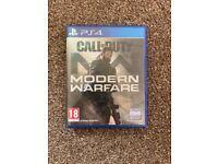 PS4 Call of Duty Modern Warfare.