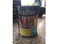 1.25 litre crown breatheasy Feature wall paint