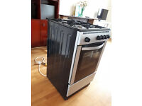 Currys Essential 50 cm Gas Cooker - Silver