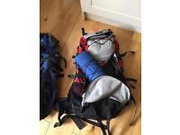 2 x rucksacks