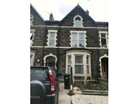One bed fully furnished flat Newport road Cardiff TO LET