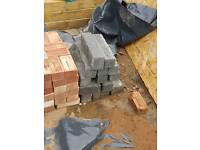 Breeze block off cuts