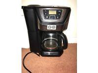 Filtered coffee machine