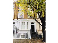 Short term let in bright double bedroom