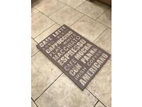 Cafe lifestyle wooden sign