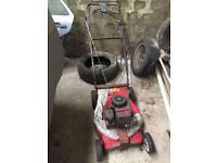 2 lawnmowers for parts or repair