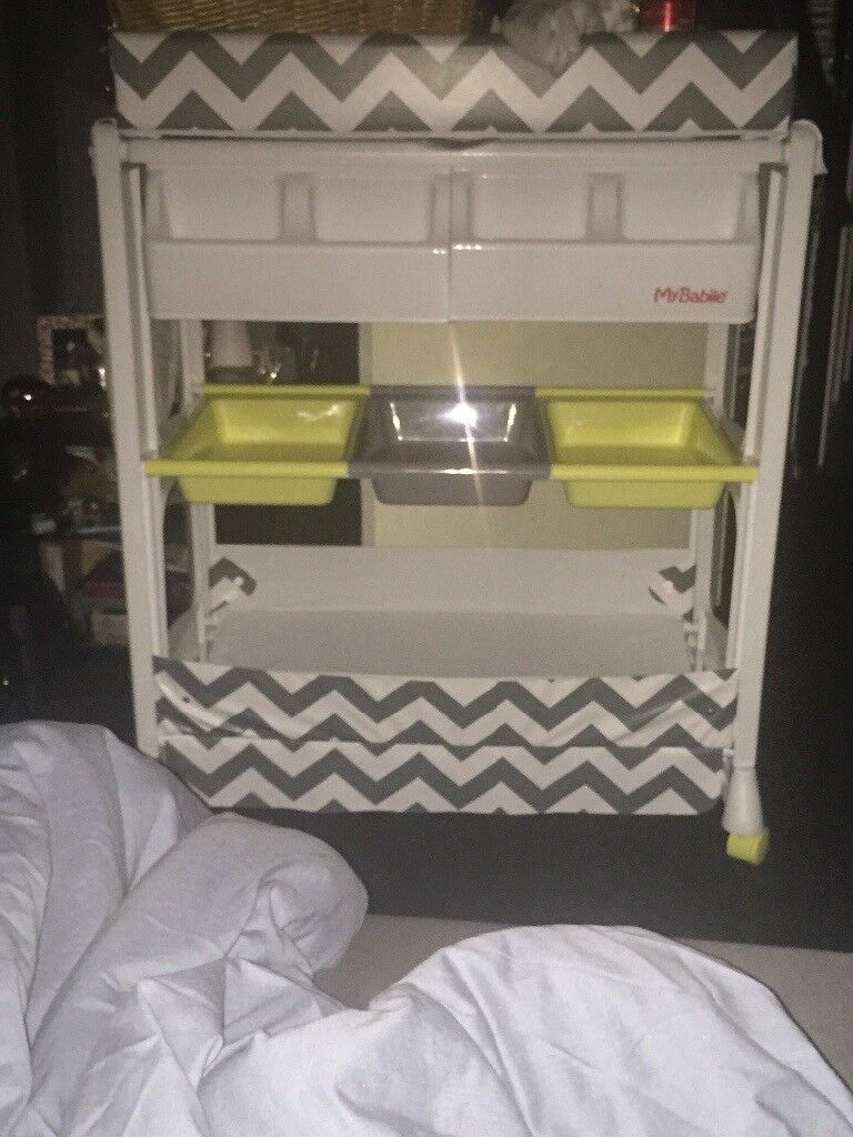 Baby bath changing unit by My Babiie