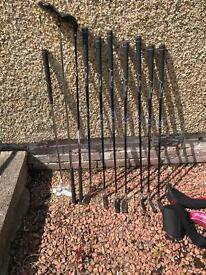 Golf clubs (junior set and adult set) open to offers