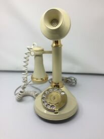 Vintage style Candle Stick Telephone