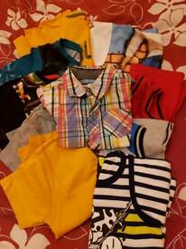 Bundle of clothes 4 and 5 year old boy