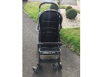 Hauck Black/silver pushchair - **PERFECT CONDITION**