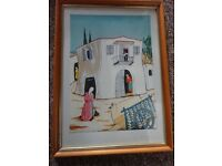 Nice Print from Cyprus Entitled An Old Home In Ayia Napa Limited Edition No 65 out of 200