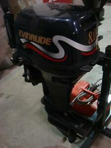 2000 evinrude 8 HP Short Shaft Tiller