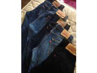 Designer Levi jeans