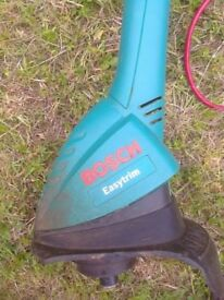 Used Bosch Easytrim electric strimmer
