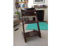 Stokke Tripp Trapp wood chair