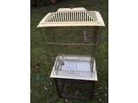 Bird Cage : suitable for Tropical Finches, Budgies, Canaries, etc.