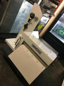 Universe counter top double pass dough sheeter ( like new ! ) just in retails about $4000+ now for only $1795 !