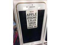 IPhone 7 Plus 128GB UNLOCKED BRAND NEW