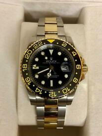 Rolex GMT bi Metal brand new box and papers £250