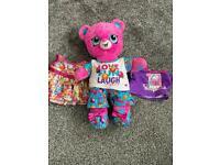 Build a bear bears , fur real unicorn and ty toys