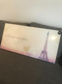 Paris canvas brand new still in packaging