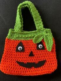 Handmade Halloween tote bag